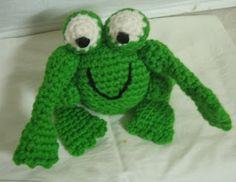 Free Crochet Patterns: amigurumi frog