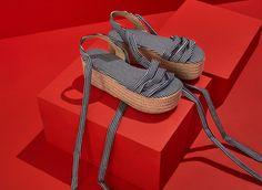 Espadrille Summer Shoes, Louis Vuitton Damier, Fashion Shoes, Espadrilles, Footwear, Pattern, Bags, Women, Style