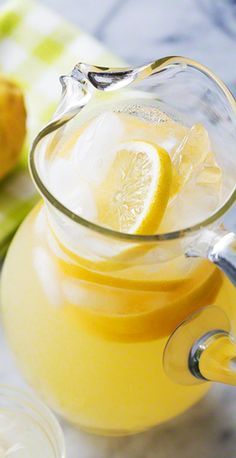 Perfect Lemonade! A simple and EASY method for making perfect lemonade every time. With simple syrup and fresh lemon juice.