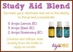 Increase your focus and concentration for tests  https://www.youngliving.org/sdduval