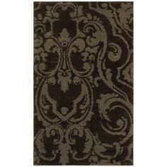 Mohawk Home Wilkshire Mink Lichen Rectangular Brown Transitional Tufted Area Rug (Common: 10-ft x 13-ft; Actual: 10-ft x 13-ft)