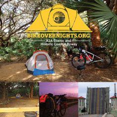The Florida Coast: Bike Overnighting the A1A Scenic and Historic Coastal Byway — Bike Overnights