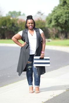 How to Style a White T-shirt & Jeans | One Look, Three Ways - Plus Size Princess