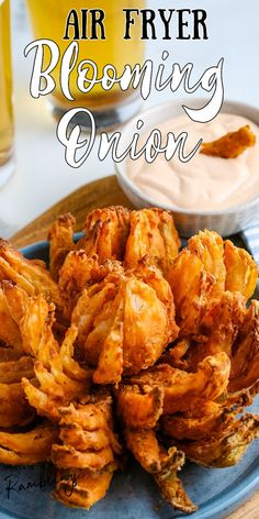 Air Fryer Recipes Appetizers, Air Fryer Oven Recipes, Air Frier Recipes, Air Fryer Dinner Recipes, Blooming Onion Recipes, Air Fryer Healthy, Healthy Food, Actifry Recipes, Cooks Air Fryer