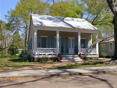 Architectural Styles - Creole Cottage - Hancock County Historical Society