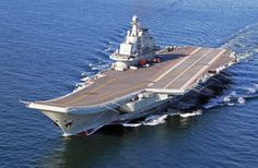 A Chinese aircraft carrier docks at Tartus to support Russian-Iranian military buildup