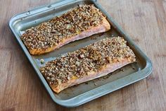 Kalyn's Kitchen: Recipe for Quick and Easy Pecan-Crusted Dijon Salmon