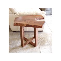 Live Edge end table Eucalyptus 24 Height by TimOBrienWoodworks