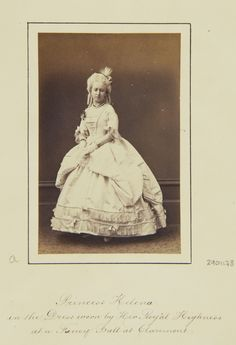 Princess Helena, 1865 [in Portraits of Royal Children Vol.8 1864-1865] | Royal Collection Trust