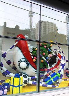 Tim Burton Christmas Window 0654