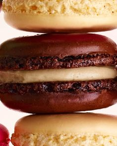 Mocha Macarons recipe (should you need a little help staying up late to watch award shows maybe?)