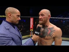 UFC 257: Conor McGregor Octagon Interview - YouTube