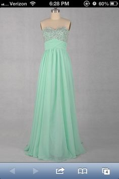 Senior ball dress! But mine is a brighter light blue color.