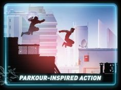 Vector HD - This app offers up a Mirror's Edge style of gameplay that unleashes the full parkour potential of the iPad, including simple controls, endless running and more than enough challenge to hold our interest. It also happens to look drop-dead gorgeous on the iPad, has a mountain of content, simple and gorgeous graphics, a solid concept, and enough mystique to keep you engaged. If you're looking for a new arcade title or parkour game to enjoy Vector HD is an easy recommendation.