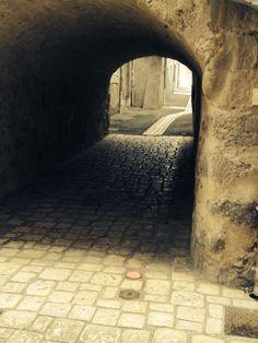 Rue pavée Drômoise
