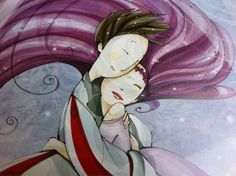 """Superbe illustration. Mon 1er livre de Mayalen Goust : """"Histoire de fées"""""""