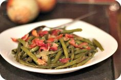 Easy Southern-Style Green Beans | The perfect side dish recipe for practically any meal!
