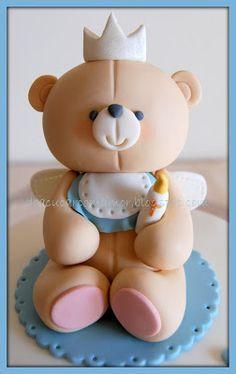 Gabriel's Baptism cake