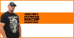 Chad Pink's fitness man camp. Cool dudes only.