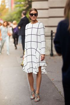 Olivia Palermo perfect office style yet again.
