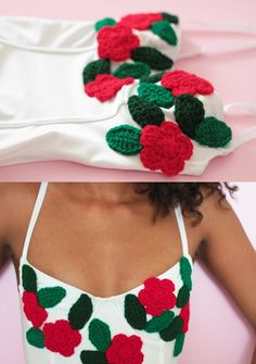 40 crochet flowers patterns and what to do with them - molliemakes.com