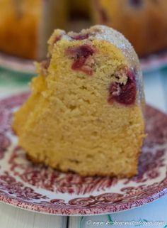 Kochen Mit Diana/ Cooking With Diana: Kirsch Eierlikör Gugelhupf/ Cherry