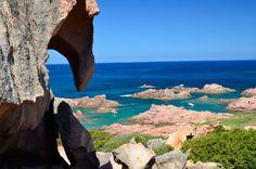 Vacanza in Sardegna al Mare . Cala Sarraina vicino a Vignola Mare