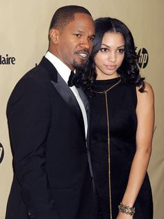 J Foxx and his now grown daughter Corrine