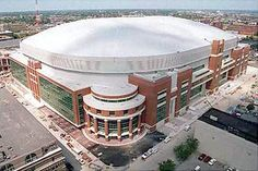 Edward Jones Dome - Home of the St. Louis Rams