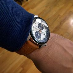 Seiko SNDF87p1 (Vintage racing chrono inspired design) Thumb 1
