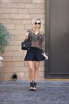 Kier Mellour in Camouflage on Fashion Addict Blog in LA www.fashionaddict.la
