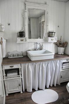 Die 54 besten Bilder von Badezimmer Shabby in 2019 | Washroom ...