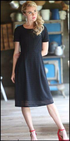 Scarlet Dress (Black) - Pre-order