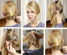 Simple Step By Step Hairstyles