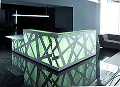 MDD introduces Zig-Zag: The reception desk with revolutionary backlighting system. Created by the architect Zbigniew Kostrzewa, the new reception desk Zig Zag