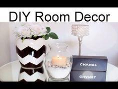 DIY Room Decor. Interior Decor. Do it yourself. Design Ideas. - YouTube