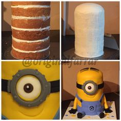 Stuart the Minion cake