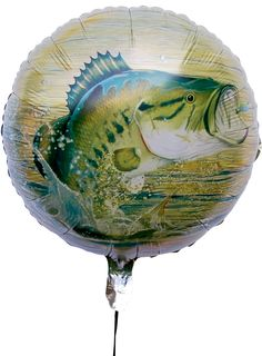 "Gone Fishin' 18"" Mylar Balloon"
