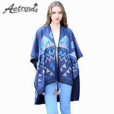 Winter Double Sides Cashmere Scarf Women Poncho Fashion Rhombus Print $28.97 => Save up to 60% and Free Shipping => Order Now! #fashion #woman #shop #diy www.scarfonline.n...