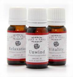 Sasy n Savy Blended Essential Oils - 12mL
