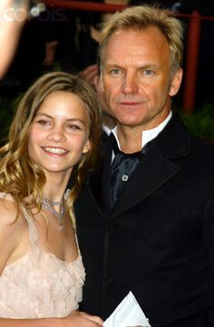 "Sting and His Daughter Eliot ""Coco"" Paulina at the 76th Annual Academy Awards 29 febbraio 2004"