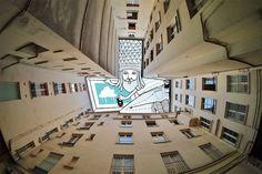 Sky art: augmented Architecture by Thomas Lamadieu