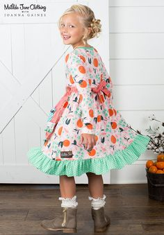 Matilda Jane with Joanna Gaines: Sweet Clementine Dress