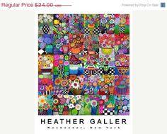 50 OFF SALE  Botanical Charts Flower Art by HeatherGallerArt, $12.00