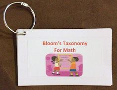 CCSS/Bloom's Taxonomy questioning