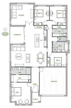 The Trinity Home Design Is Modern, Sustainable And Energy Efficient. Take A  Look At The Floorplan Of One Of Green Homes Premium Eco Friendly House U2026