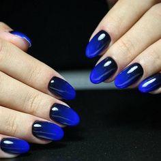 Cool Nail Art Designs for 2019 - Diy Nail Designs Nail Art Designs, Ombre Nail Designs, Acrylic Nail Designs, Gradient Nail Design, Nails Design, Gradient Nails Tutorial, Nagellack Design, Nail Polish, Nail Nail