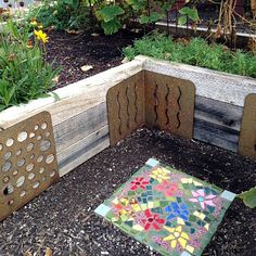 Make an L or U shaped raised bed with the M Brace® Insider