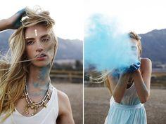 Mr Kate - Beauty Marks, hand draw gold foils :: so boheme