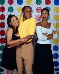 "Michelle Thomas (left) was the adorable ""Myra"" on Family Matters and also the girlfriend of Malcom-Jamal Warner. She was a former international pageant queen. She had a role on The Young & The Restless before her death to stomach cancer in Top Tv Shows, Best Tv Shows, Favorite Tv Shows, Michelle Thomas, Steve Urkel, Jaleel White, Gta San Andreas, Vintage Black Glamour, Celebrities Then And Now"
